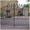 Ornamental Iron Gates