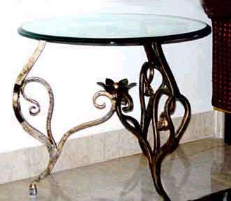 Decorative Wrought Iron Table And Garden Tables