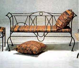 rot iron furniture. Wrought Iron Sofa Table Rot Furniture