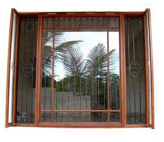 Wrought Iron Window Grills